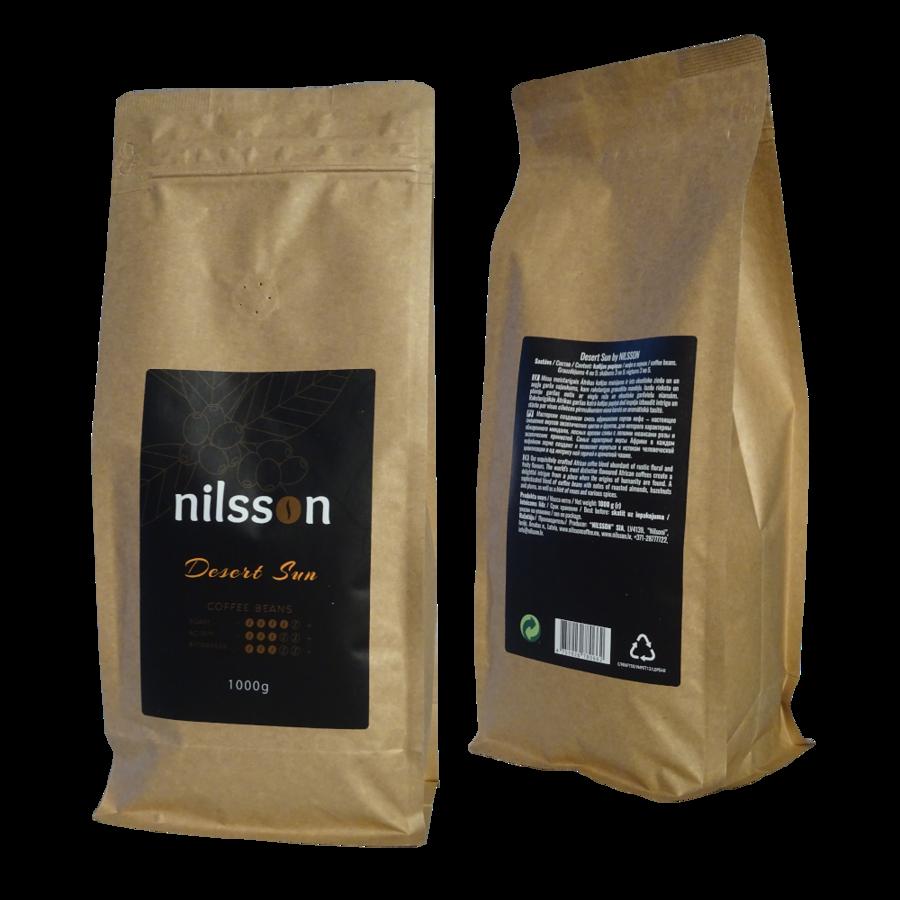Desert Sun* / Nilsson/ Pupiņas vai malta kafija, cena EUR par 1 kilogramu, no