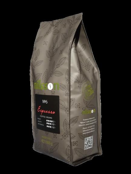 Espresso / Nilsson supermarket series/ Coffee beans 1000 g
