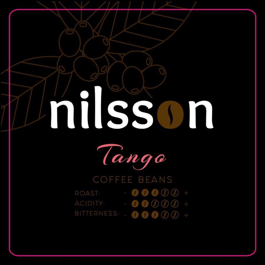 Tango* / Nilsson/ Pupiņas vai malta kafija, cena EUR par 1 kilogramu, no