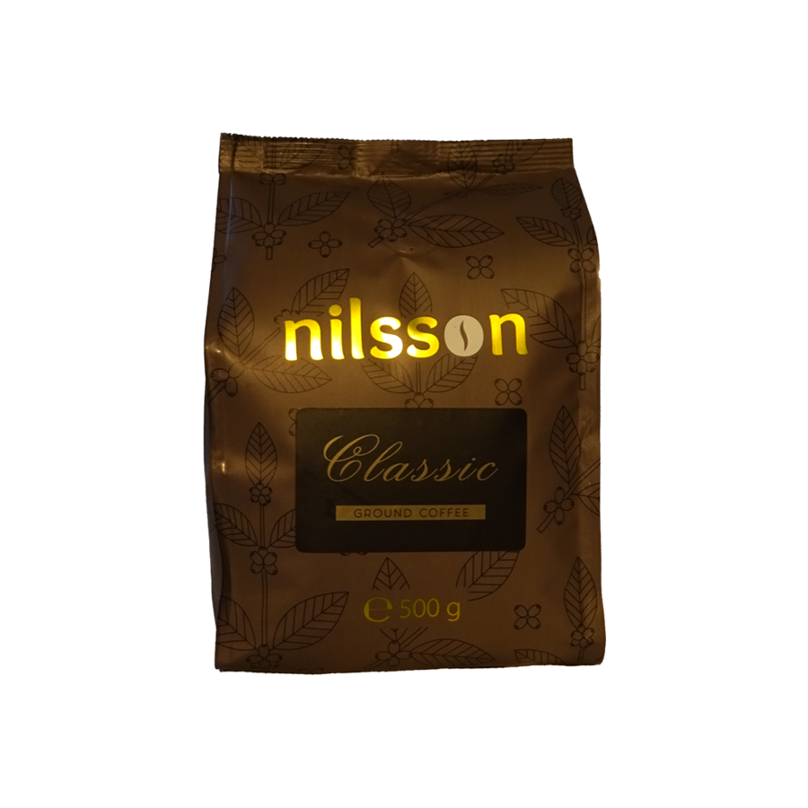 Classsic / Nilsson supermarket series/ Ground coffee 500 g