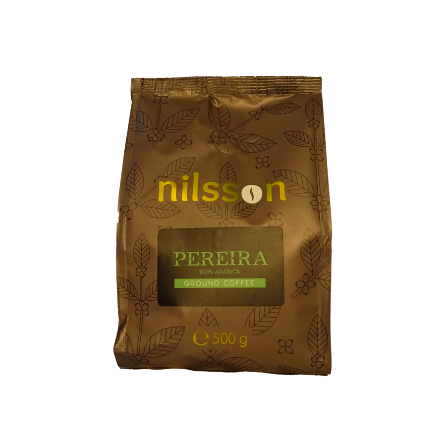 Pereira / Nilsson supermarket series/ Ground coffee 500 g