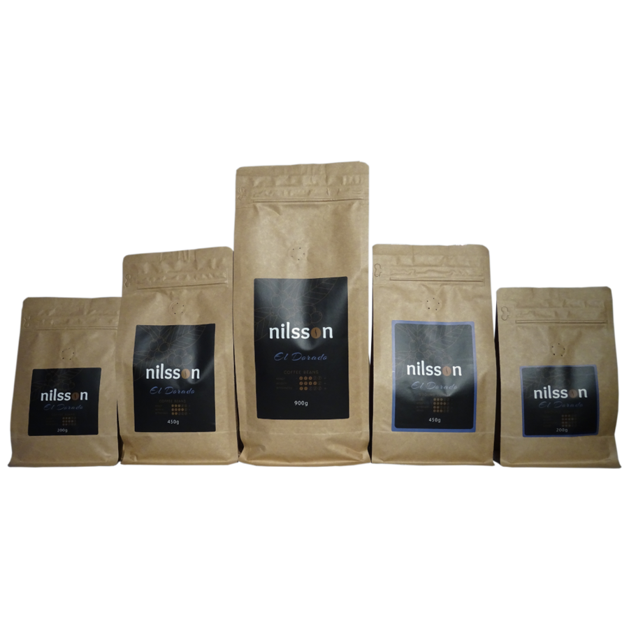 El Dorado* / Nilsson/ Pupiņas vai malta kafija, cena EUR par 1 kilogramu, no 14,92